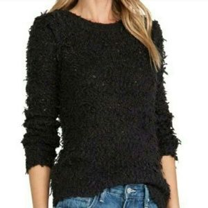 Free People September song Pullover furry sweater